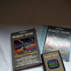 Videojuegos y Consolas: ATARI. ROBOT TANK Y COMBAT.. Lote 203817496