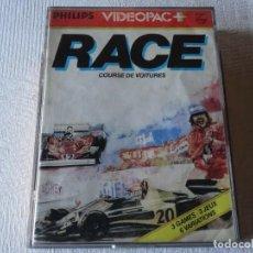 Videojuegos y Consolas: PHILIPS VIDEOPAC - Nº 1 RACE VERY RAR VIDEOPAC+. Lote 204625976