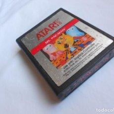 Jeux Vidéo et Consoles: MS PACMAN PAC-MAN - ATARI 2600 Y COMPATIBLES - JUEGO EN CARTUCHO ORIGINAL. Lote 204713267