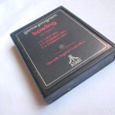 Videojuegos y Consolas: BOWLING - ATARI 2600 Y COMPATIBLES - JUEGO EN CARTUCHO ORIGINAL. Lote 204713428
