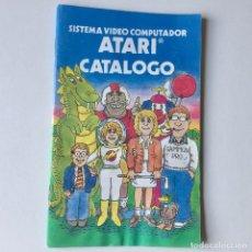Videojuegos y Consolas: CATALOGO DE JUEGOS CONSOLA ATARI 2600 - AÑO 1980. Lote 205370962