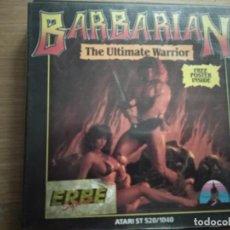 Videojuegos y Consolas: JUEGO BARBARIAN ATARI ST. Lote 205476503