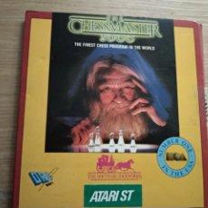 Videojuegos y Consolas: JUEGO CHESSMASTER 2000 AJEDREZ ATARI ST CON DISCOS. Lote 205491563