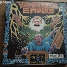 Videojuegos y Consolas: JUEGO VAMPIRES EMPIRE ATARI ST +SIN DISCO. Lote 205508931