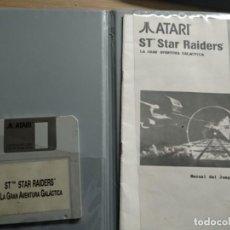 Videojuegos y Consolas: JUEGO ST STAR RAIDER LA GRAN AVENTURA GALACTICA ATARI S. Lote 205509311