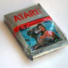 Videojuegos y Consolas: VIDEOJUEGO E.T. EL EXTRATERRESTRE DE ATARI, EN SU CAJA ORIGINAL - 1982. Lote 205532236