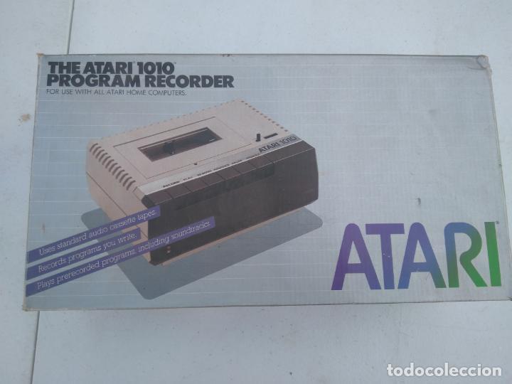 Videojuegos y Consolas: ATARI 1010 - UNIDAD DE CASSETTE, PROGRAM RECORDER - NUEVA, EN SU CAJA, A ESTRENAR - Foto 2 - 205814780