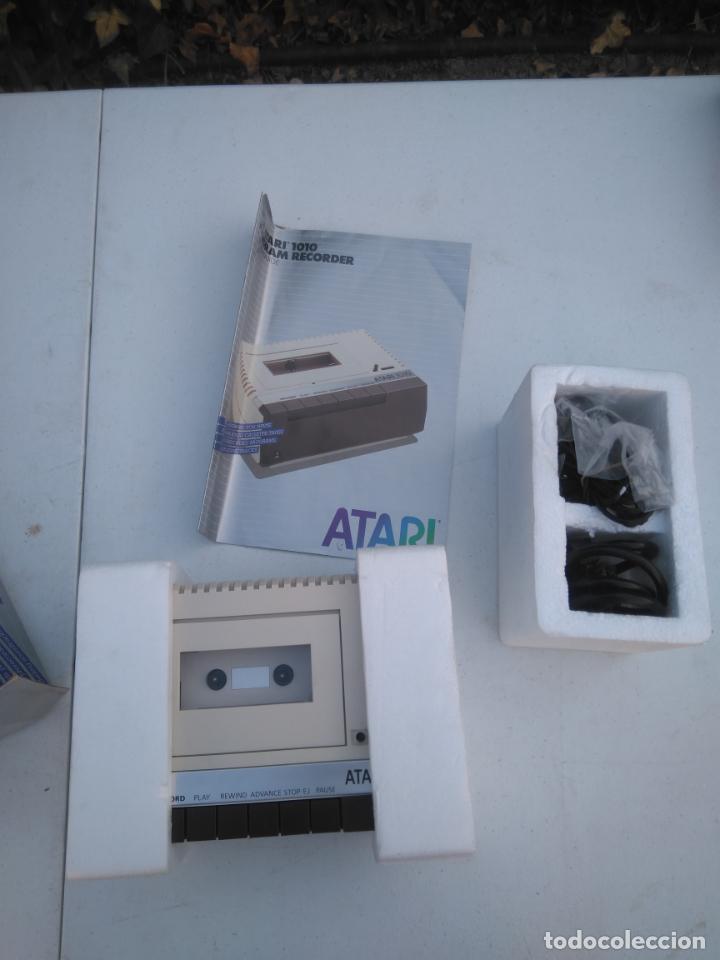 Videojuegos y Consolas: ATARI 1010 - UNIDAD DE CASSETTE, PROGRAM RECORDER - NUEVA, EN SU CAJA, A ESTRENAR - Foto 3 - 205814780