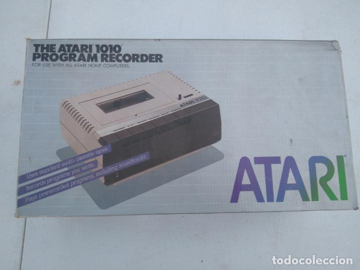 ATARI 1010 - UNIDAD DE CASSETTE, PROGRAM RECORDER - NUEVA, EN SU CAJA, A ESTRENAR (Juguetes - Videojuegos y Consolas - Atari)