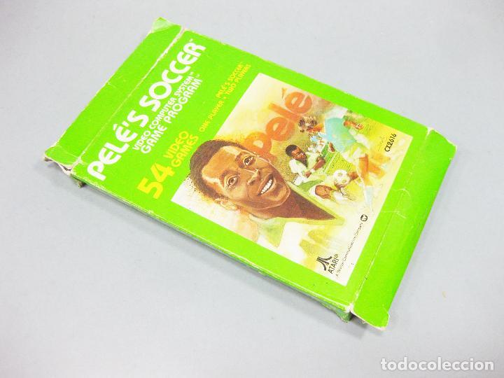 Videojuegos y Consolas: JUEGO ATARI DE PELE - FUTBOL - PELE´S SOCCER CX2616 - Foto 2 - 205875195