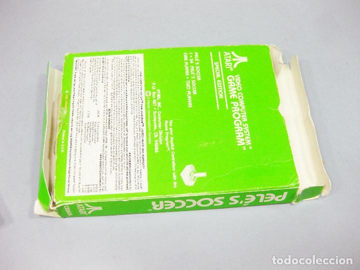 Videojuegos y Consolas: JUEGO ATARI DE PELE - FUTBOL - PELE´S SOCCER CX2616 - Foto 3 - 205875195