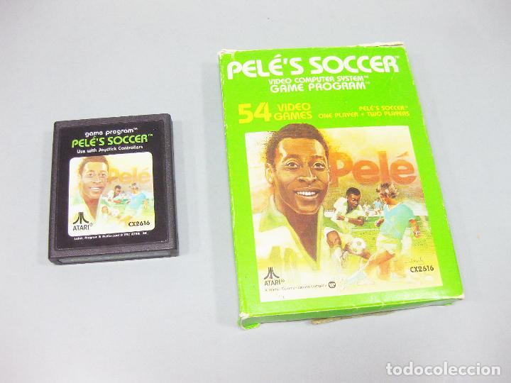 JUEGO ATARI DE PELE - FUTBOL - PELE´S SOCCER CX2616 (Juguetes - Videojuegos y Consolas - Atari)