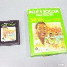 Videojuegos y Consolas: JUEGO ATARI DE PELE - FUTBOL - PELE´S SOCCER CX2616. Lote 205875195