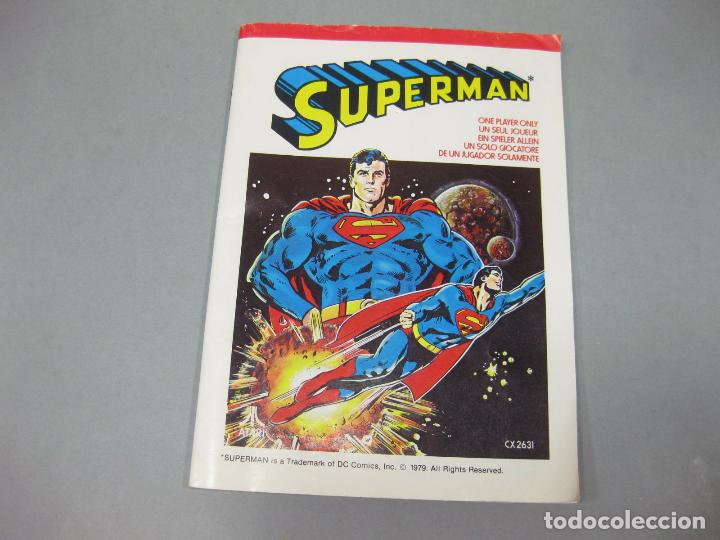 Videojuegos y Consolas: JUEGO ATARI DE SUPERMAN CON INSTRUCCIONES - CX2631 - Foto 2 - 205875252