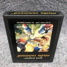 Videojuegos y Consolas: MISSILE COMMAND ATARI 2600. Lote 206292820