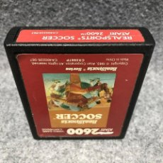 Videojuegos y Consolas: REALSPORTS SOCCER ATARI 2600. Lote 206292823