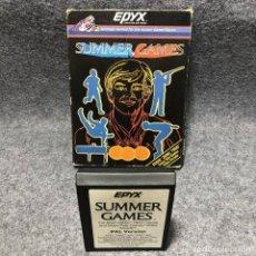 Videojuegos y Consolas: SUMMER GAMES ATARI 2600. Lote 206292833