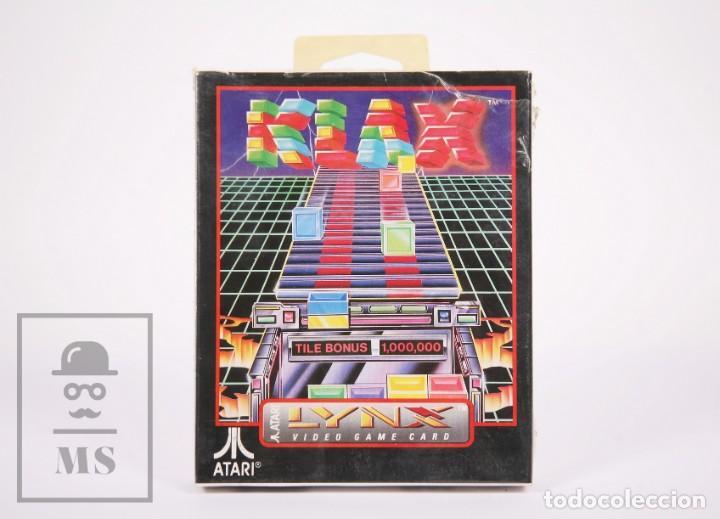 VIDEOJUEGO / JUEGO PRECINTADO PARA LYNX / ATARI - KLAX - ATARI, 1990 (Juguetes - Videojuegos y Consolas - Atari)
