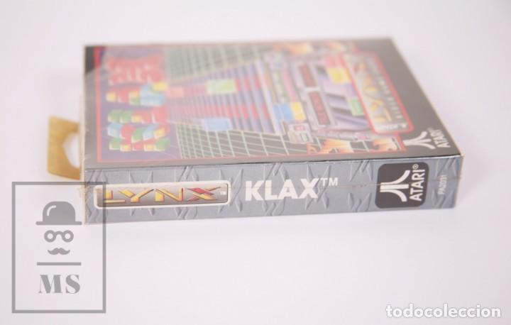 Videojuegos y Consolas: Videojuego / Juego Precintado para Lynx / Atari - Klax - Atari, 1990 - Foto 3 - 206893908