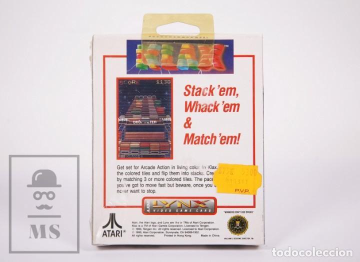 Videojuegos y Consolas: Videojuego / Juego Precintado para Lynx / Atari - Klax - Atari, 1990 - Foto 4 - 206893908