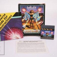 Videojuegos y Consolas: VIDEOJUEGO / JUEGO PARA CONSOLA / VIDEOCONSOLA LYNX / ATARI - ISHIDO. THE WAY OF STONES - ATARI,1991. Lote 206960690