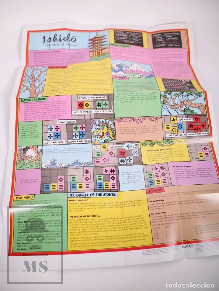 Videojuegos y Consolas: Videojuego / Juego para Consola / Videoconsola Lynx / Atari - Ishido. The Way of Stones - Atari,1991 - Foto 3 - 206960690