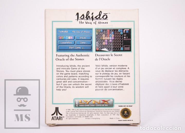 Videojuegos y Consolas: Videojuego / Juego para Consola / Videoconsola Lynx / Atari - Ishido. The Way of Stones - Atari,1991 - Foto 5 - 206960690
