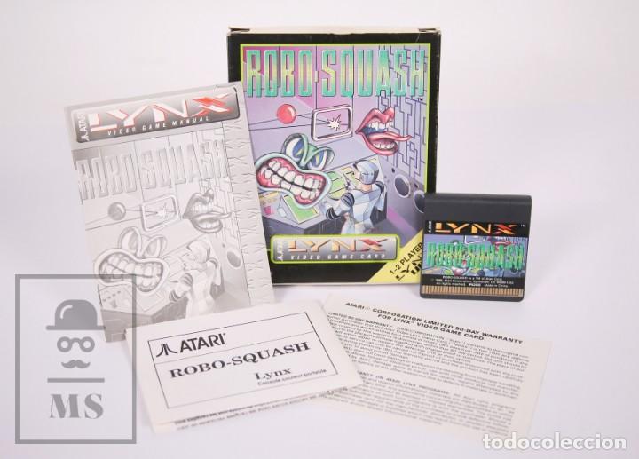 Videojuegos y Consolas: Videojuego / Juego para Consola / Videoconsola Lynx / Atari - Robo-Squash - Atari, 1990 - Foto 2 - 206961325