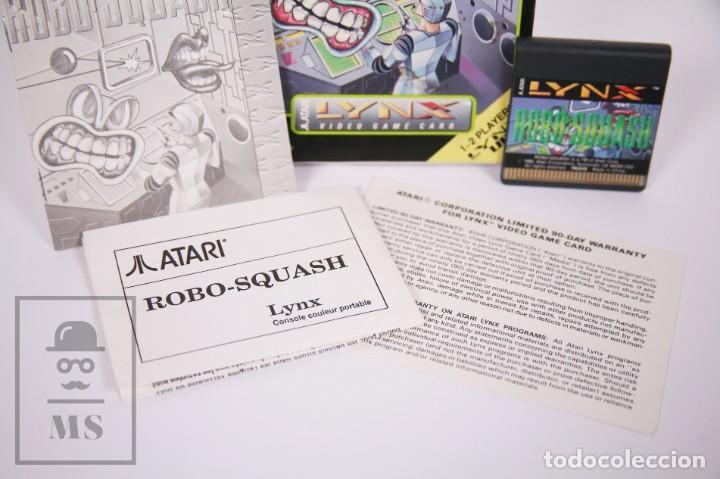 Videojuegos y Consolas: Videojuego / Juego para Consola / Videoconsola Lynx / Atari - Robo-Squash - Atari, 1990 - Foto 3 - 206961325