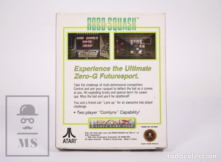 Videojuegos y Consolas: Videojuego / Juego para Consola / Videoconsola Lynx / Atari - Robo-Squash - Atari, 1990 - Foto 5 - 206961325