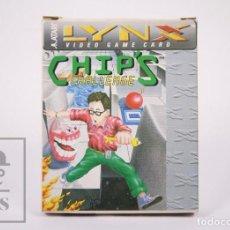 Videojuegos y Consolas: VIDEOJUEGO / JUEGO PARA CONSOLA / VIDEOCONSOLA LYNX / ATARI - CHIP'S CHALLENGE - ATARI, 1989. Lote 206961471