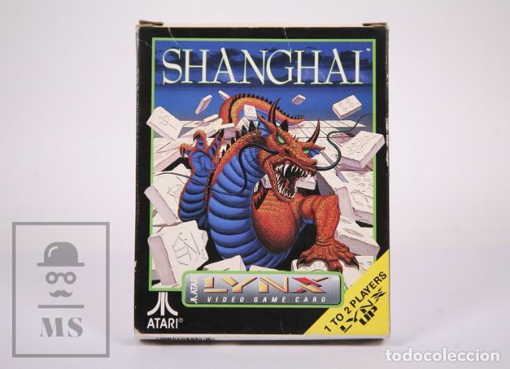VIDEOJUEGO / JUEGO PARA CONSOLA / VIDEOCONSOLA LYNX / ATARI - SHANGHAI - ATARI, 1990 (Juguetes - Videojuegos y Consolas - Atari)