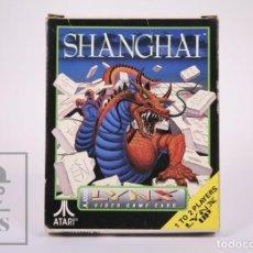 Videojuegos y Consolas: VIDEOJUEGO / JUEGO PARA CONSOLA / VIDEOCONSOLA LYNX / ATARI - SHANGHAI - ATARI, 1990. Lote 206961661