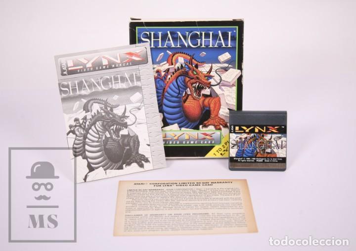 Videojuegos y Consolas: Videojuego / Juego para Consola / Videoconsola Lynx / Atari - Shanghai - Atari, 1990 - Foto 2 - 206961661