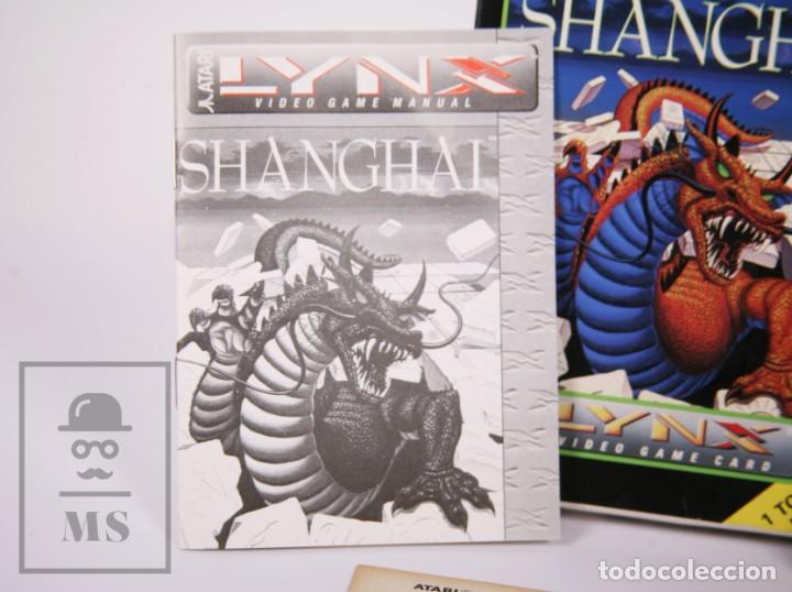 Videojuegos y Consolas: Videojuego / Juego para Consola / Videoconsola Lynx / Atari - Shanghai - Atari, 1990 - Foto 3 - 206961661