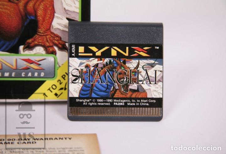 Videojuegos y Consolas: Videojuego / Juego para Consola / Videoconsola Lynx / Atari - Shanghai - Atari, 1990 - Foto 5 - 206961661