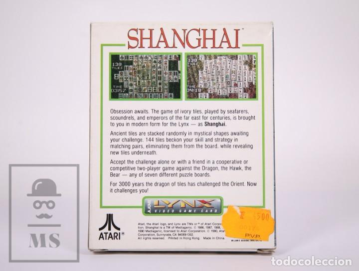 Videojuegos y Consolas: Videojuego / Juego para Consola / Videoconsola Lynx / Atari - Shanghai - Atari, 1990 - Foto 6 - 206961661