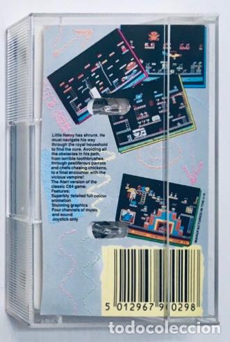 Videojuegos y Consolas: Henry´s House [Mastertronic] 1987 [ATARI 600 / 800 / XL / XE] Chris Murray - Foto 2 - 48306159