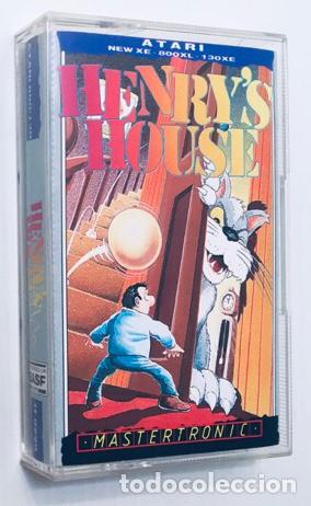 HENRY´S HOUSE [MASTERTRONIC] 1987 [ATARI 600 / 800 / XL / XE] CHRIS MURRAY (Juguetes - Videojuegos y Consolas - Atari)