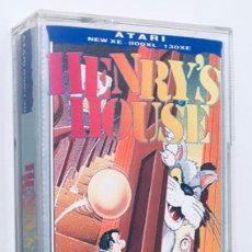 Videojuegos y Consolas: HENRY´S HOUSE [MASTERTRONIC] 1987 [ATARI 600 / 800 / XL / XE] CHRIS MURRAY. Lote 48306159