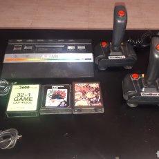 Videojuegos y Consolas: CONSOLA ATARI 2600 COMPLETA LEER DESCRIPCIÓN. Lote 207456906