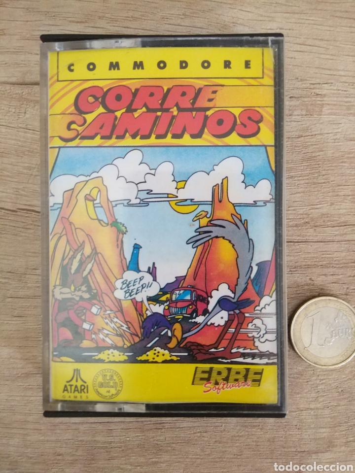 JUEGO CORRECAMINOS (ROAD RUNNER). COMMODORE. AÑO: 1985 (Juguetes - Videojuegos y Consolas - Atari)