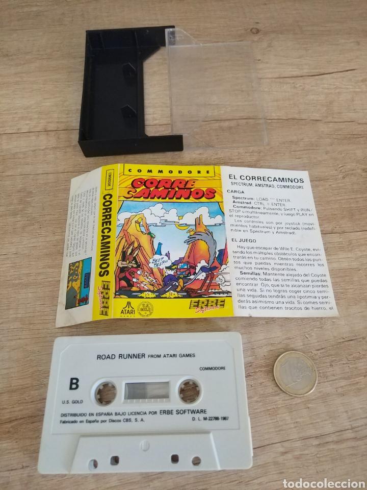 Videojuegos y Consolas: Juego CORRECAMINOS (Road Runner). COMMODORE. Año: 1985 - Foto 3 - 207753483