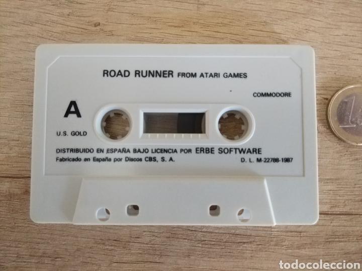 Videojuegos y Consolas: Juego CORRECAMINOS (Road Runner). COMMODORE. Año: 1985 - Foto 5 - 207753483