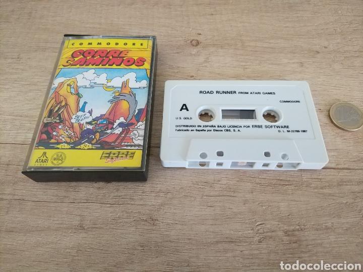 Videojuegos y Consolas: Juego CORRECAMINOS (Road Runner). COMMODORE. Año: 1985 - Foto 7 - 207753483