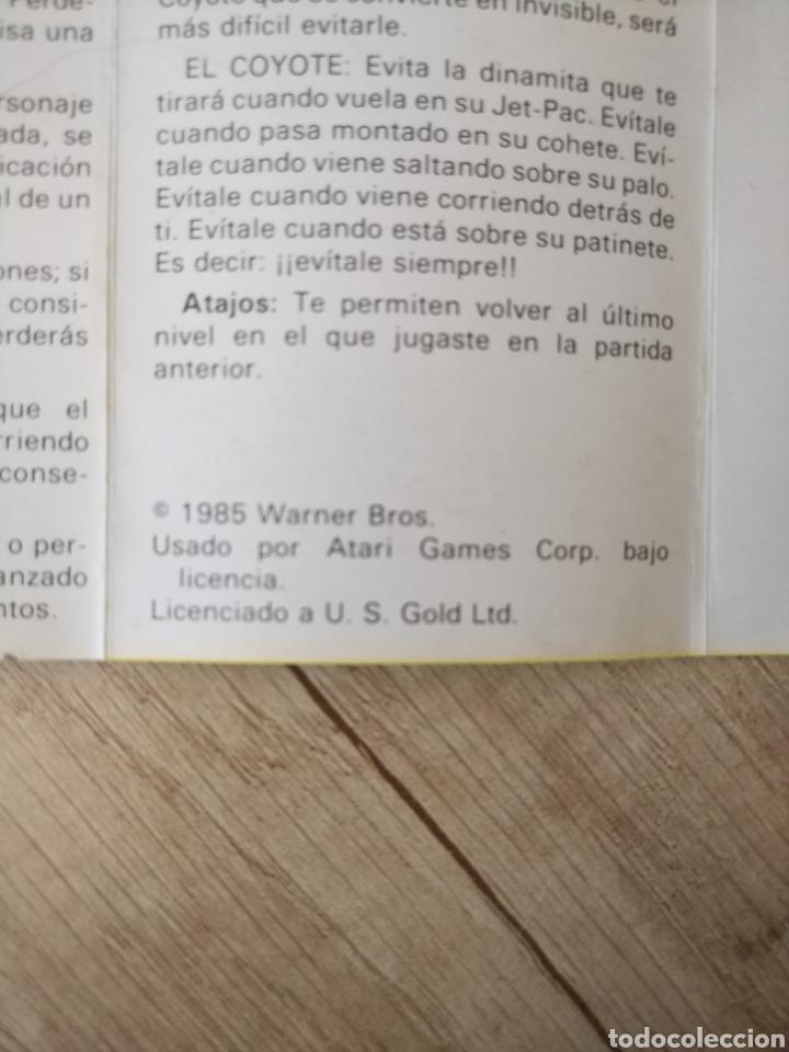 Videojuegos y Consolas: Juego CORRECAMINOS (Road Runner). COMMODORE. Año: 1985 - Foto 8 - 207753483
