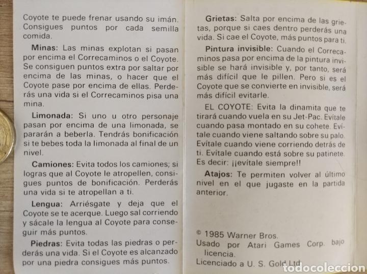 Videojuegos y Consolas: Juego CORRECAMINOS (Road Runner). COMMODORE. Año: 1985 - Foto 11 - 207753483