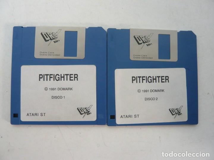 PIT FIGHTER / ATARI ST / STE / RETRO VINTAGE / DISCO - DISQUETE (Juguetes - Videojuegos y Consolas - Atari)