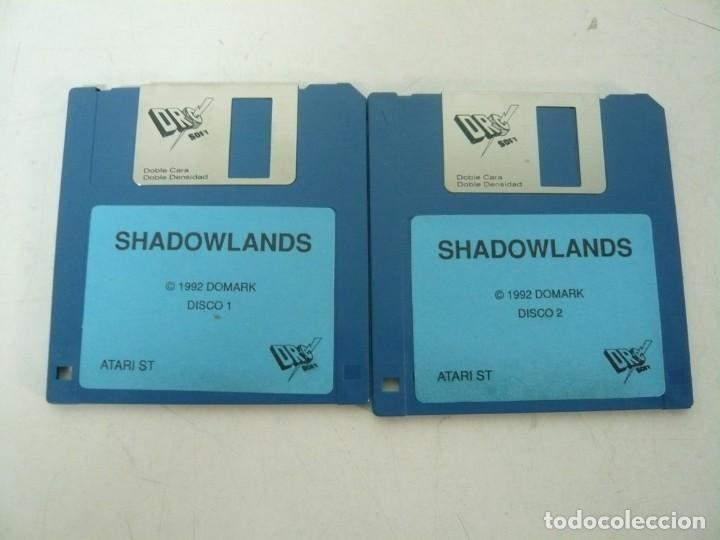 SHADOWLANDS / ATARI ST / STE / RETRO VINTAGE / DISCO - DISQUETE (Juguetes - Videojuegos y Consolas - Atari)