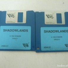 Videojuegos y Consolas: SHADOWLANDS / ATARI ST / STE / RETRO VINTAGE / DISCO - DISQUETE. Lote 208385138